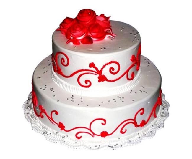 The Royal Three Tier Cake 3kg