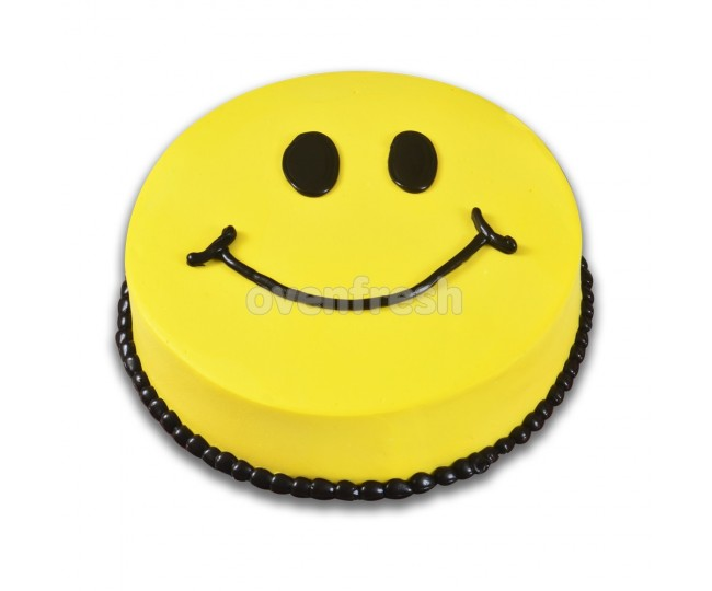 Smiley cake in all flavours 1 kg