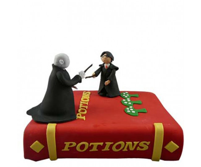 Harry potter and voldemort cake 3 kg