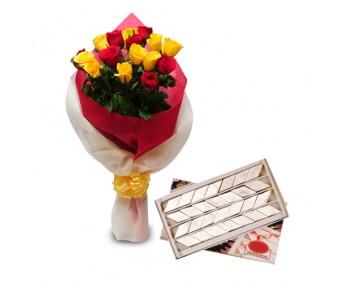 Roses N Kaju Katli-Diwali