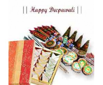 Diwali Wishes With Crackers