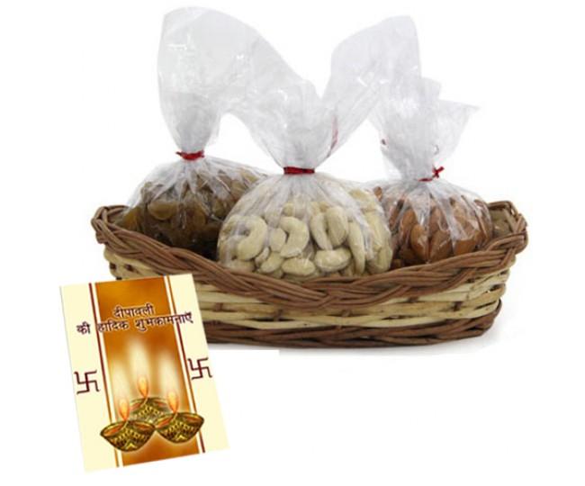 Dryfruit Basket-For Diwali