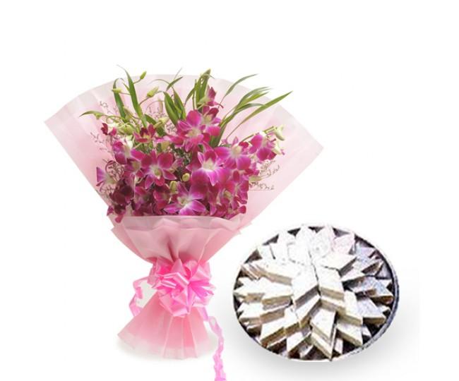Orchids N Katli-Diwali