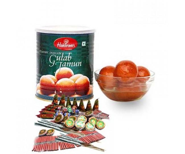 Gulab Jamun & Crackers
