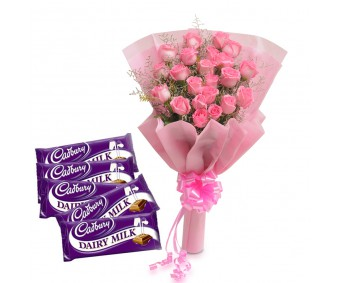 Pretty Pink N Chocolates