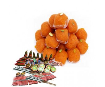 Crackers With Ladoo