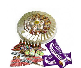 Crackers With Chocolates