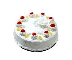 2kg Pineapple Cake - eggless
