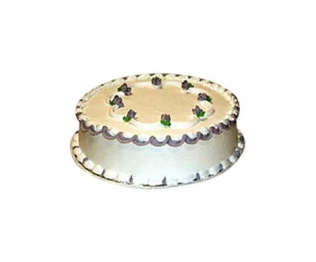 Vanilla cake - eggless