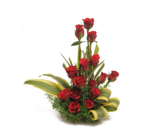 The Sweet Surprises - Long stem Red Roses