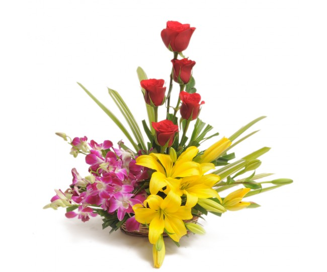 Sweet Splendor - Flowers and lillies arrangements