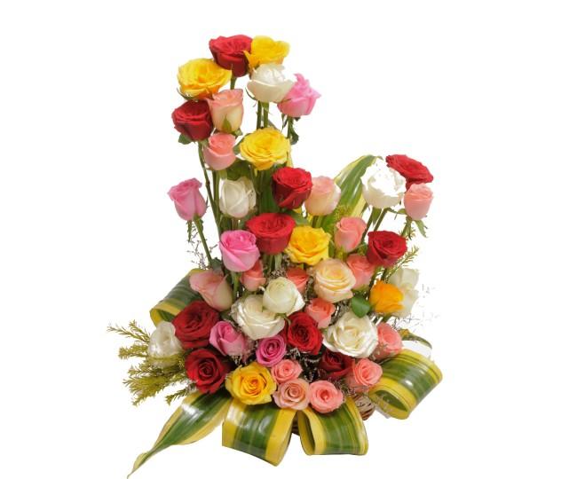 Modern Embrace - Flowers Arrangements