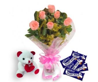 Flowers n Teddy Soft