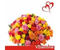 Valentine Mix roses