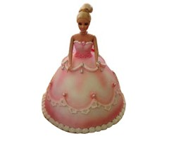 Doll Shape Cake