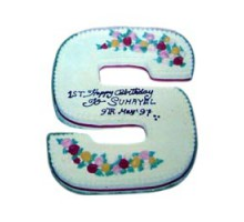Alphabet Shape Cake