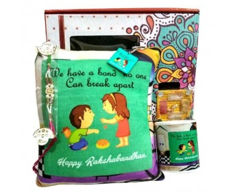 We have a bond no one can break apart- Rakhi gift